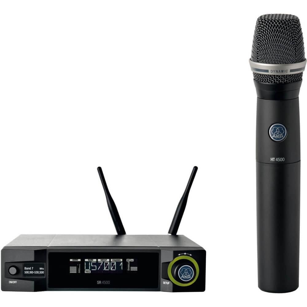 MICROFONE VOCAL DINAMICO SEM FIO WMS4500 SET D7/BDI 28950429