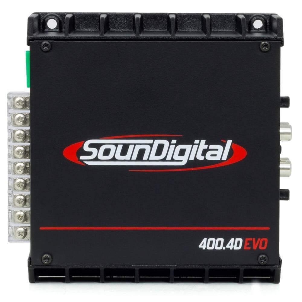 MODULO POTENCIA SOUNDIGITAL CLASSE D SD400.4D EVO BLACK